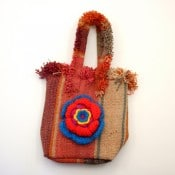 Sunset Flower Handbag
