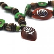 Reconstituted Tagua Set (Set of 3)