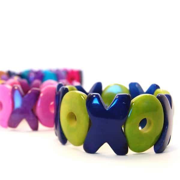 Tagua XO Bracelet (Set of 6)