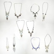 Glass Chandelier Necklace Bundle (Set of 10)