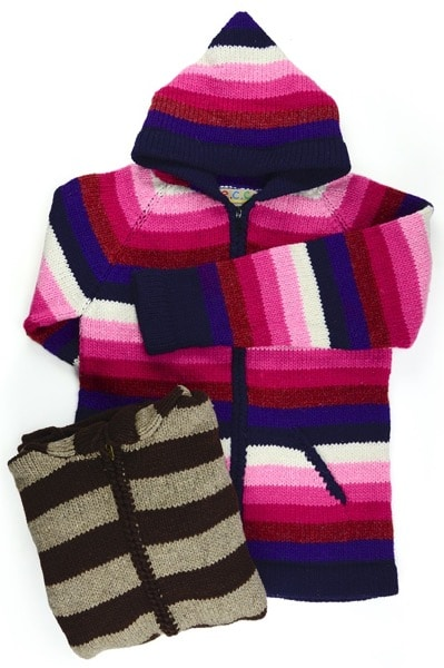 Striped Adult Sweater