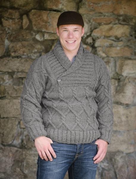 Cowl Neck Wool Sweater
