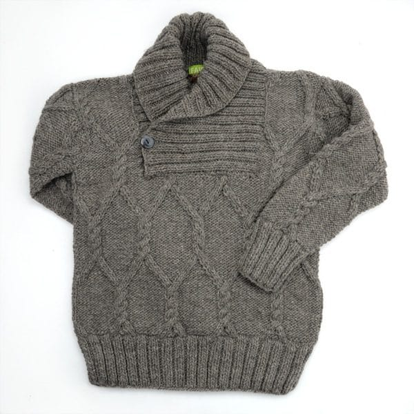 Cowl Neck Wool Sweater