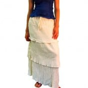 Layered Gauze Skirt