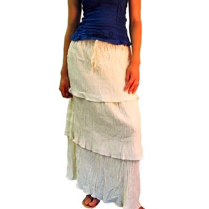 Layered Gauze Skirt