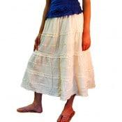 Ribbon & Ruffle Skirt