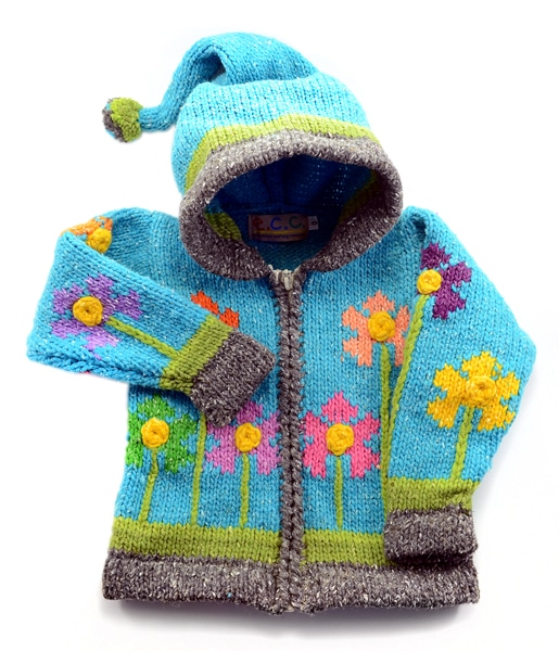 Flower Garden Sweater