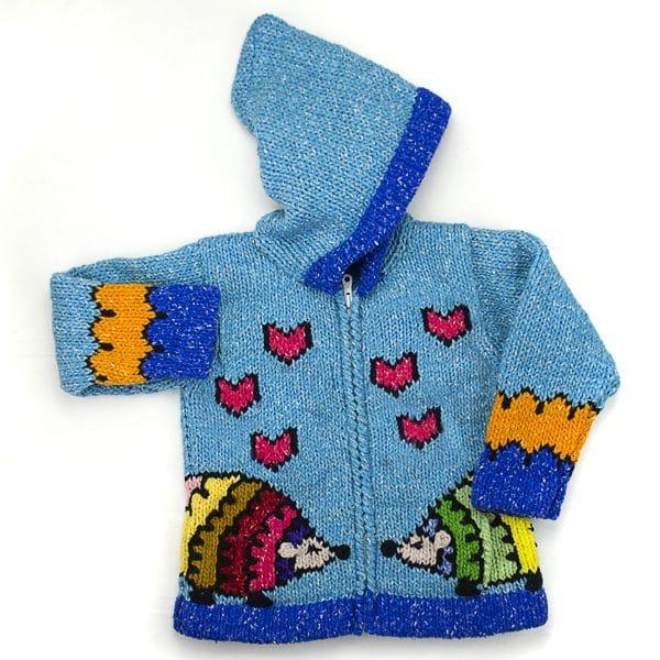 Hedgehogs in Love Sweater