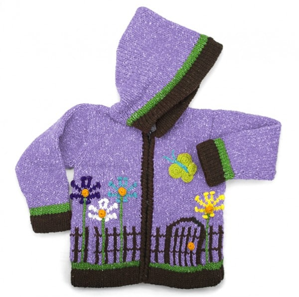 Fenced Garden Sweater