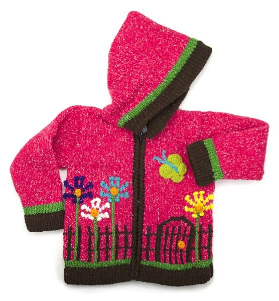 Fenced Garden Sweater