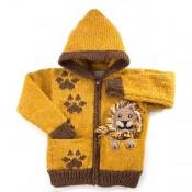 Lion in Pocket Sweater