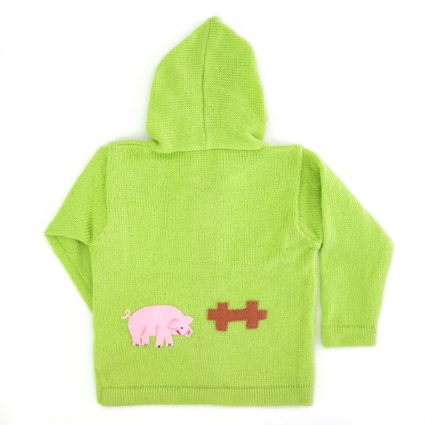 Busy Barnyard Sweater