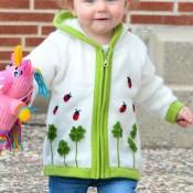 Ladybug Shuffle Sweater