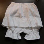 Single Ruffle Bloomers
