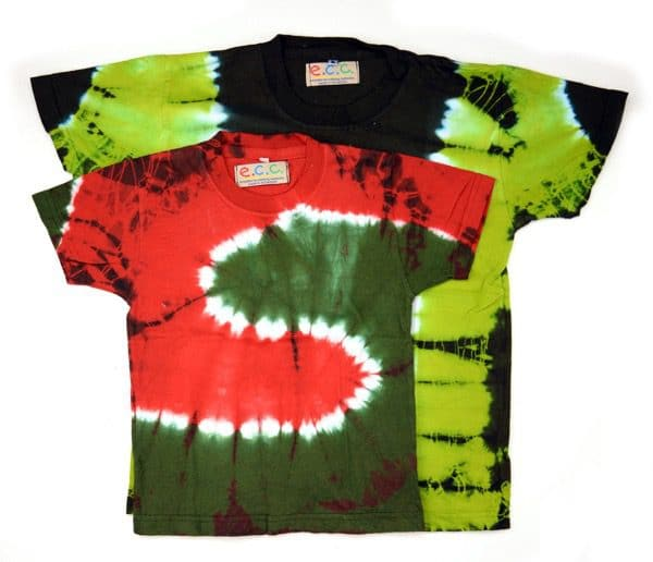 Kid's Tie Dyed T-Shirt