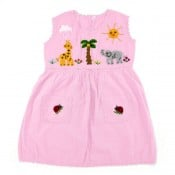 Applique Girl's Dress