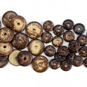 Coconut Button Bead (100ct)