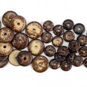 Coconut Button Bead (100ct)