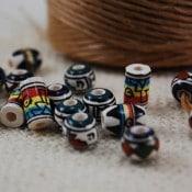Ceramic Beads (100 Ct)