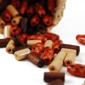 Wooden Beads (100 Ct)