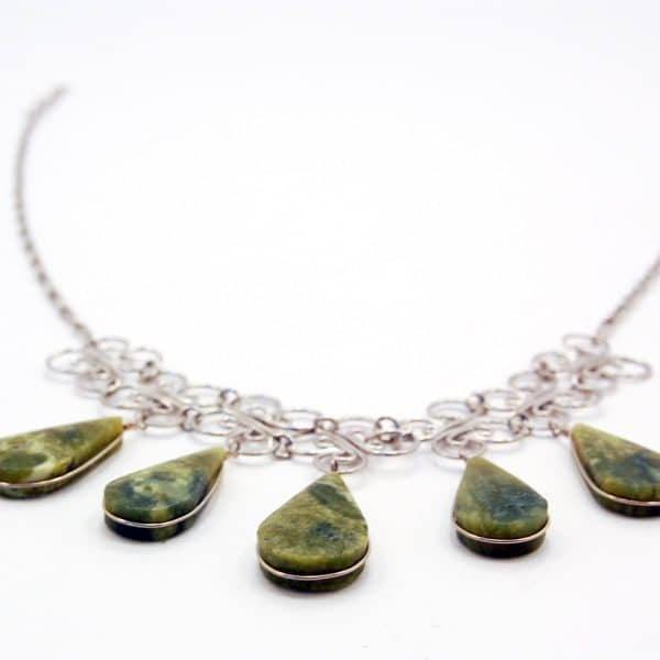 Cinco Stone Necklace