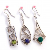 Cabochon Earrings