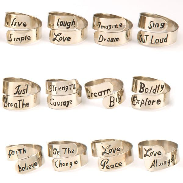 Motto Ring