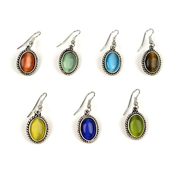 Cat's Eye Earrings