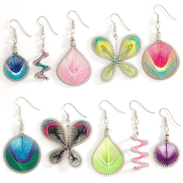 Racquet Earrings