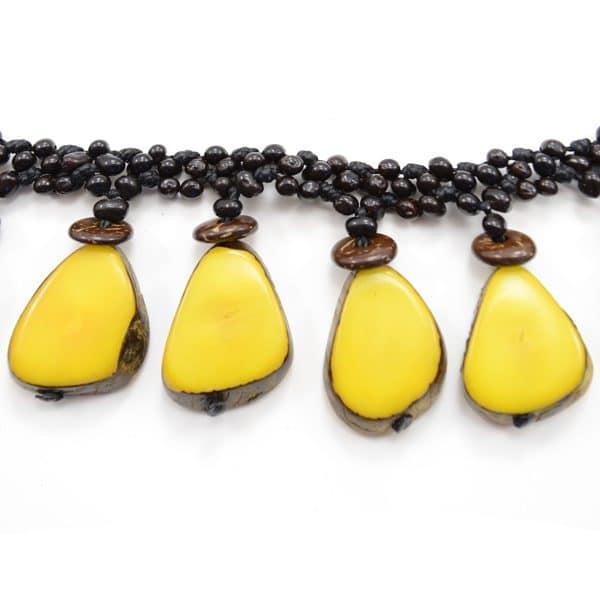Achira Six Slice Necklace