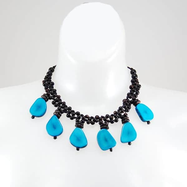 Achira Six Slice Necklace