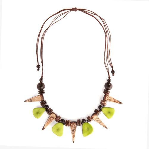 Coco Tooth & Slice Necklace