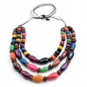 Triple Strand Taguilla Necklace