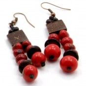 Acai Asymmetric Earrings