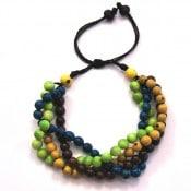 Plaited Seed Bracelet