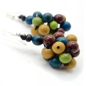 Plaited Seed Earrings