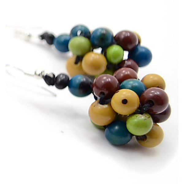 Plaited Seed Earrings