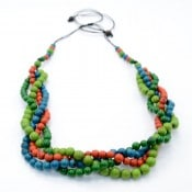 Plaited Seed Necklace