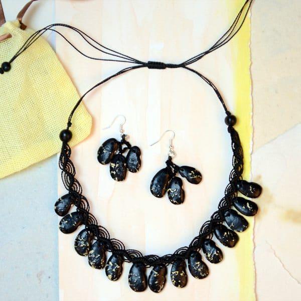 Beanscape Earrings