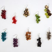 Crocheted Seed Earrings