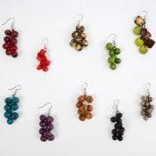Crocheted Seed Earrings