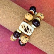 Natural Plaque Bracelet (Set of 5)