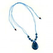 Tagua Simple Slice Necklace