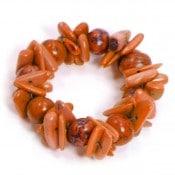 Tagua Cluster Bracelet
