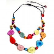 Tagua Crown Necklace