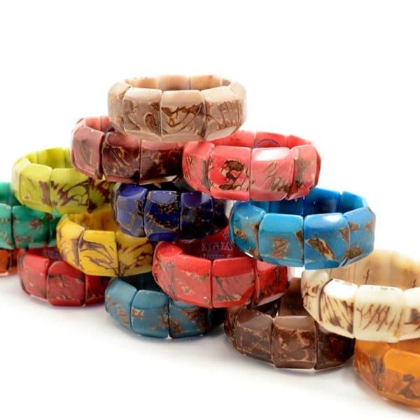 Chiseled Tagua Bracelet