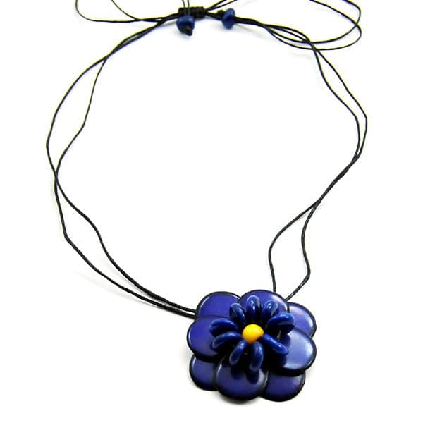 Solitary Flower Necklace