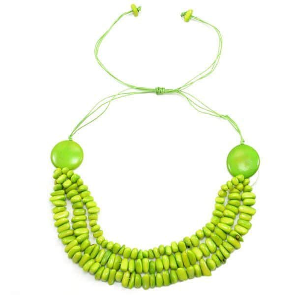 Tagua Smile Necklace