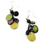Tagua Storm Earrings