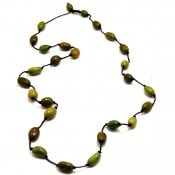 Olive Strand Necklace